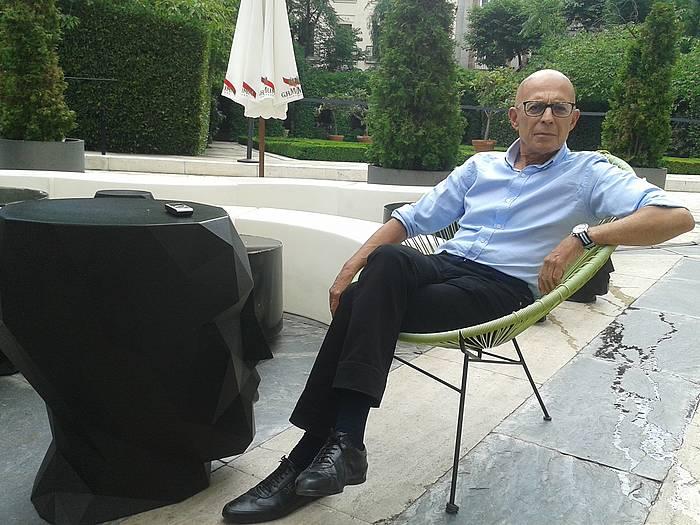 José Manuel Gómez Benítez by Enekoitz Esnaola