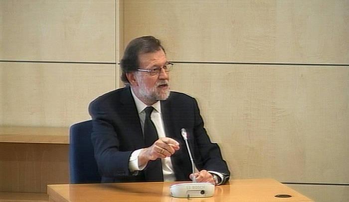 Mariano Rajoy Auzitegi Nazionalean. / ©EFE