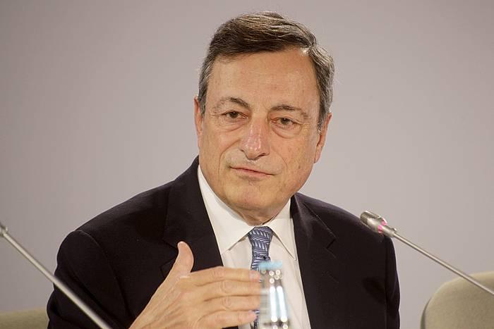 Mario Draghi Europako Banku Zentraleko Presidentea. ©VALDA KALNINA / EFE