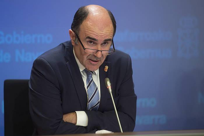 Manu Aierdi, Garapen Ekonomikoko lehendakariordea. ©Iñigo Uriz / ARGAZKI PRESS