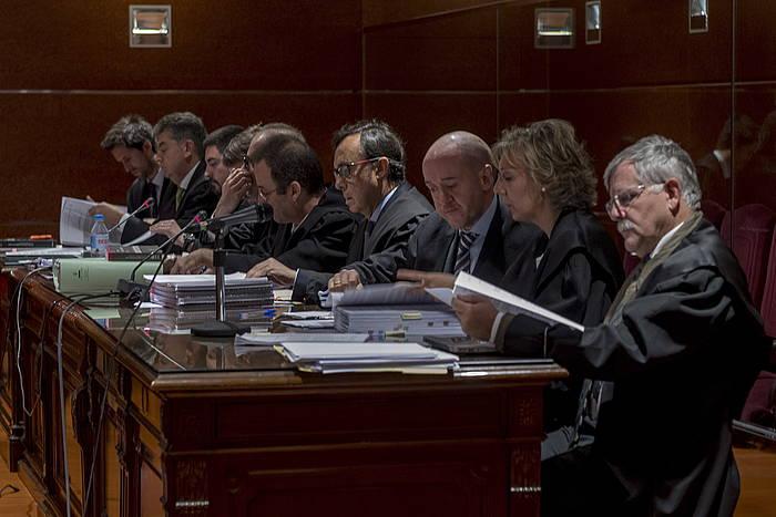 Hiriko auziaren merkataritza alorreko epaiketaren lehen bista joan den astean, Gasteizen. / ©Juanan Ruiz, Argazki Press