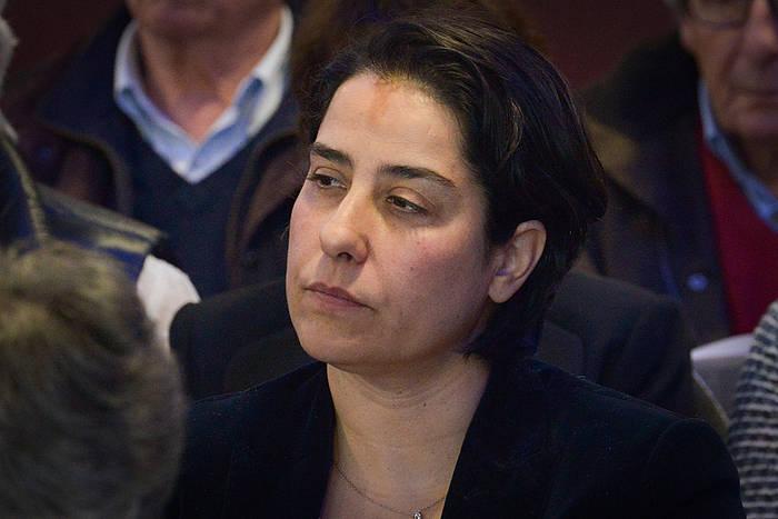 Frederique Espagnac, senatari sozialista. / ©Isabelle Miquelestorena