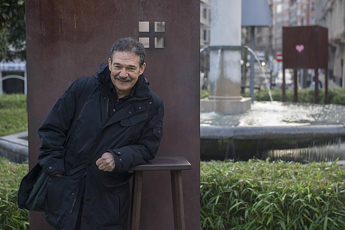Xabier Olarra itzultzailea. ©Monika del Valle, Argazki Press