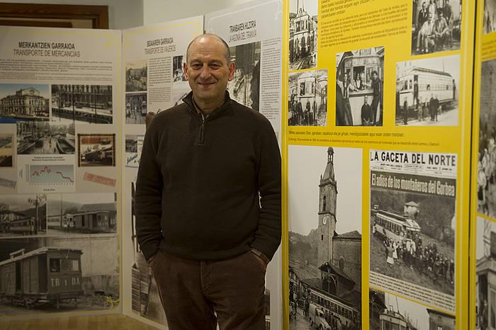 Jon Uruturtxu historialaria. ©Raul Bogajo / Argazki Press