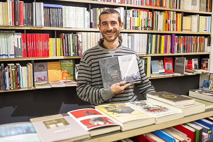 Juako Escaso idazlea./ ©Juan Carlos Ruiz, Argazki Press