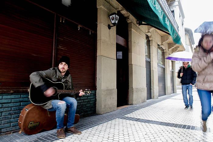 Tristan Crowley musikaria./ ©Juan Carlos Ruiz, Argazki Press