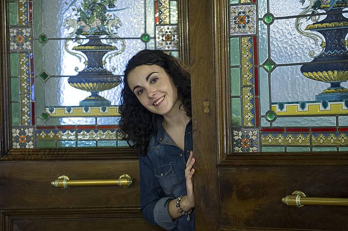 Marta Martin matematikaria./ ©Monika del Valle, Argazki Press