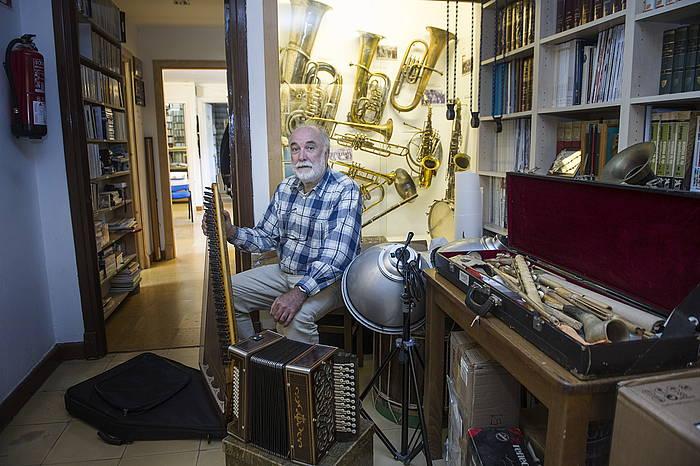 Juan Mari Beltran musikologoa./ ©Jon Urbe, Argazki Press