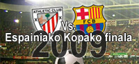 Athletic Vs. Bartzelona - Espainiako Kopako finala 2009