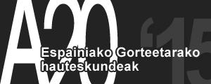 A20 - Espainiako Gorteetarako hauteskundeak