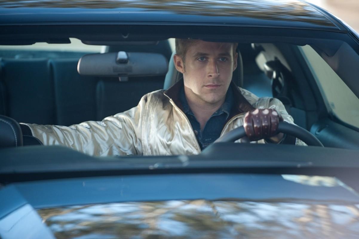 Ryan Gosling aktorea, <em>Drive</em> pelikulako eszena batean. /