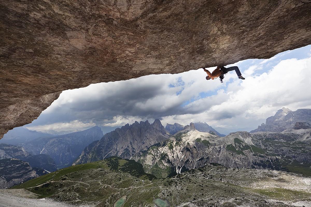 Iker Pou, <em>The Hardest of the Alps</em> filmaren irudietako batean.