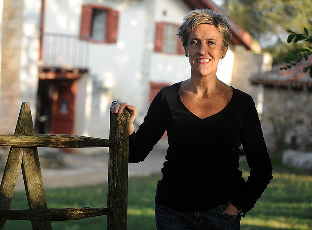 Yolanda Arrietak Hendaiako Nekatoenea etxean egindako egonaldian idazti zuen <i>Argiaren alaba</i> liburua.</i>