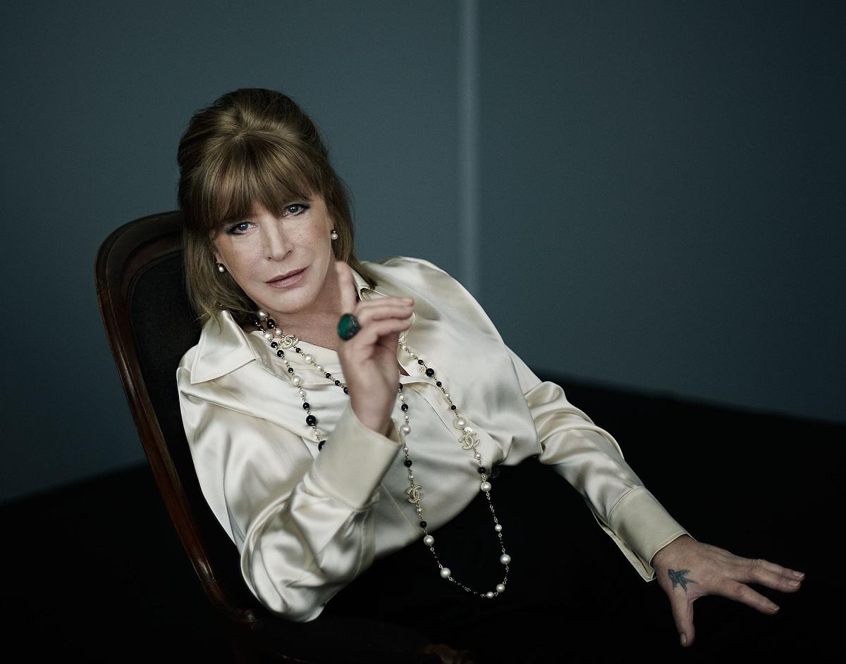Marianne Faithfull, Ingalaterrako rockaren bidea ia hasieratik ezagutu duen kantaria. ©Z / EZEZAGUNA