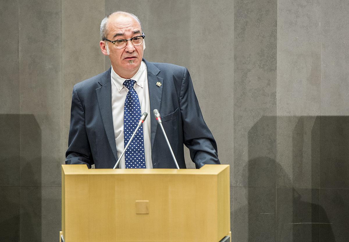 Martin Garitano Gipuzkoako ahaldun nagusia. ©GORKA RUBIO / ARGAZKI PRESS