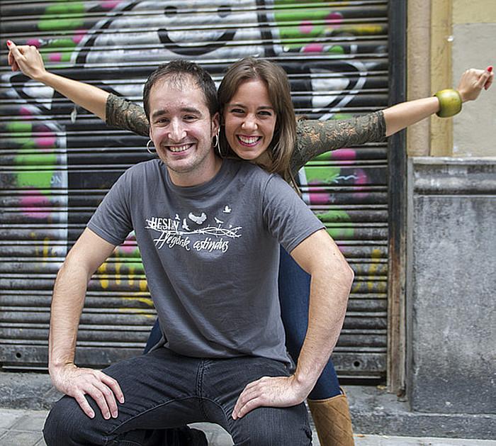 Zuriñe Hidalgo eta Fran Urias Hesian taldeko kideak. ©MARISOL RAMIREZ / ARP