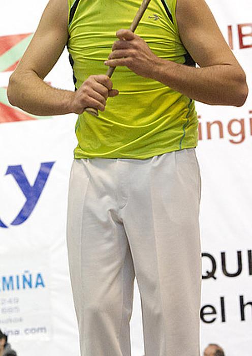 Aitzol Atutxa, ahalegin betean, iazko finalean. ©GORKA RUBIO / ARGAZKI PRESS
