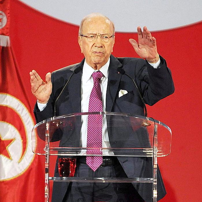 Beji Caid Essebsi, Nida Tunis alderdi laikoko burua. ©EFE