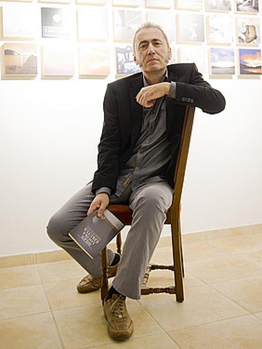 Jabier Muguruza, atzo, Donostian. ©JUAN CARLOS RUIZ / ARGAZKI PRESS