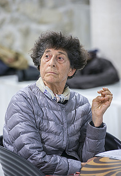 Bere sorkuntzaren nondik norakoak azaldu zituen Ferrerrek. ©G. RUBIO / ARP