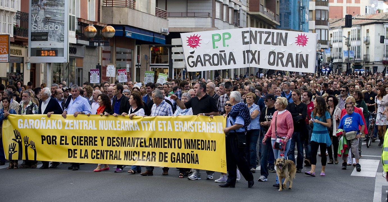 Andoni Egaña EHUko ikastaroetan egindako hitzaldian. ©JUAN CARLOS RUIZ / ARGAZKI PRESS