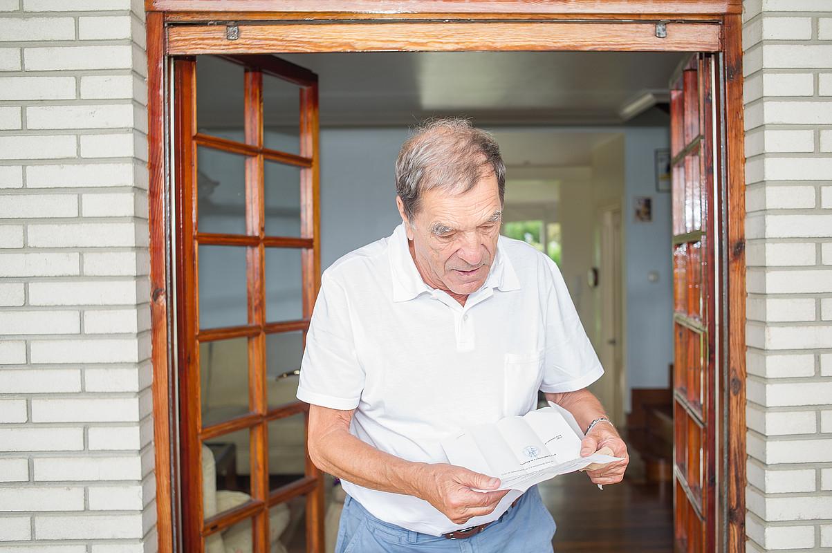Artur Mas, Kataluniako Parlamentuko Diputazio Iraunkorrean egindako agerraldian. ©TONI ALBIR / EFE