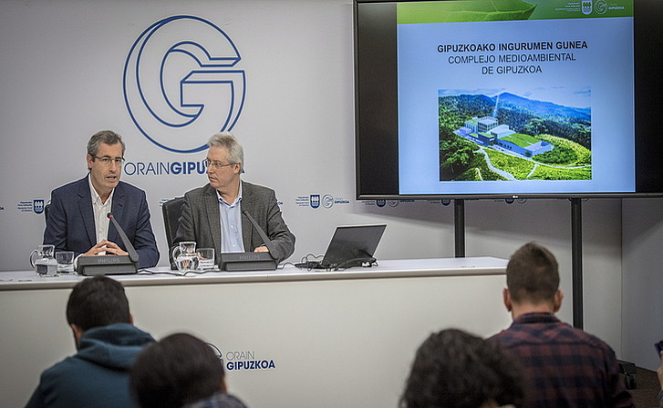 Abenduan onartu zuen GHK-k plantaren adjudikazioa. ©GORKA RUBIO / ARGAZKI PRESS