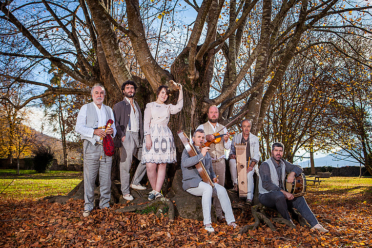 Bederatzi musikari igoko dira oholtzara Donostiako Kursaal jauregiko Ganbara aretoan, etzi, <em>Zuhainpeko soinuak</em> ikuskizunaren estreinaldian.