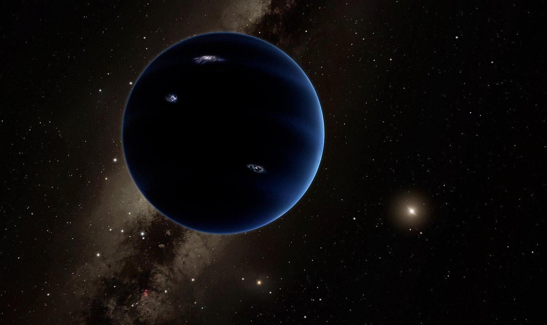 Bederatzigarren planetaren irudikapen artistikoa. ©R.HURT / CALTECH