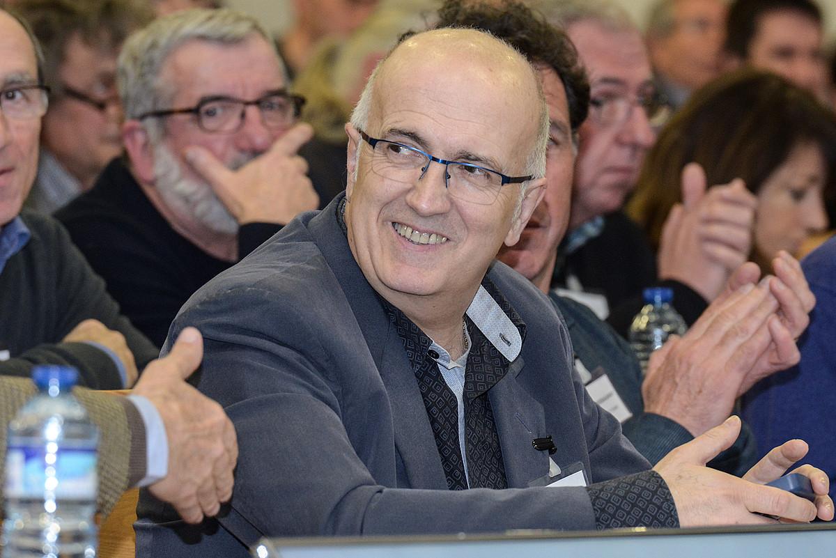 Beñat Arrabit, Euskal Elkargoko Hizkuntza Politikarako presidenteordea. ©ISABELLE MIQUELESTORENA