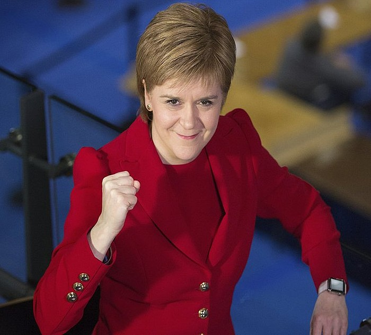 Nicola Sturgeon, Eskoziako lehen ministroa. ©ROBERT PERRY / EFE