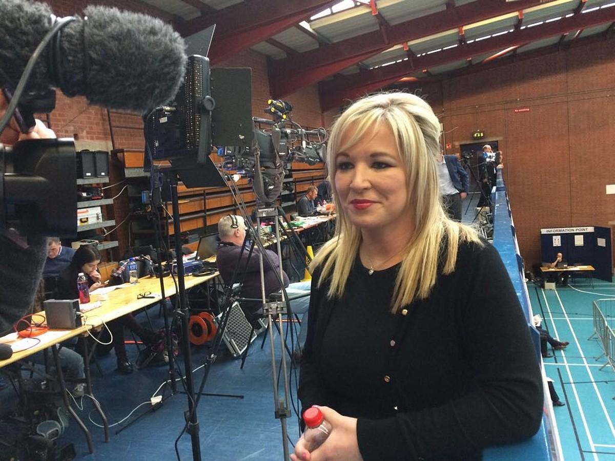 Michelle O'Neill, Sinn Feineko iparraldeko burua. ©SINN FEIN
