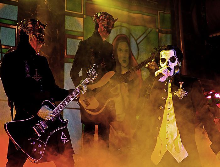 Ghost taldearen kontzertua, Bilboko Santana 27 aretoan. ©KOLDO ORUE