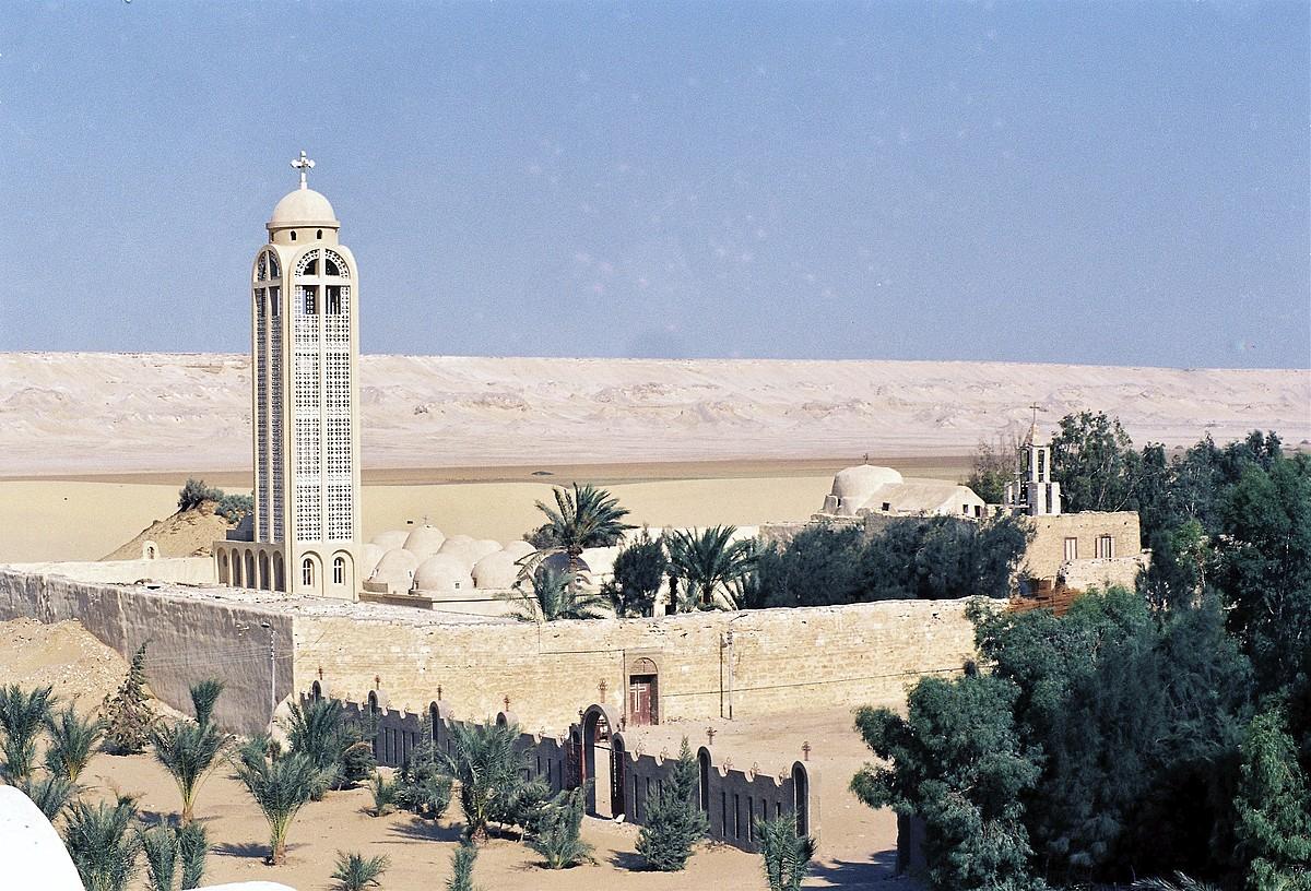 San Samuel monasterioa, Minja eskualdean. Bidean egin zuten atentatua. ©EFE