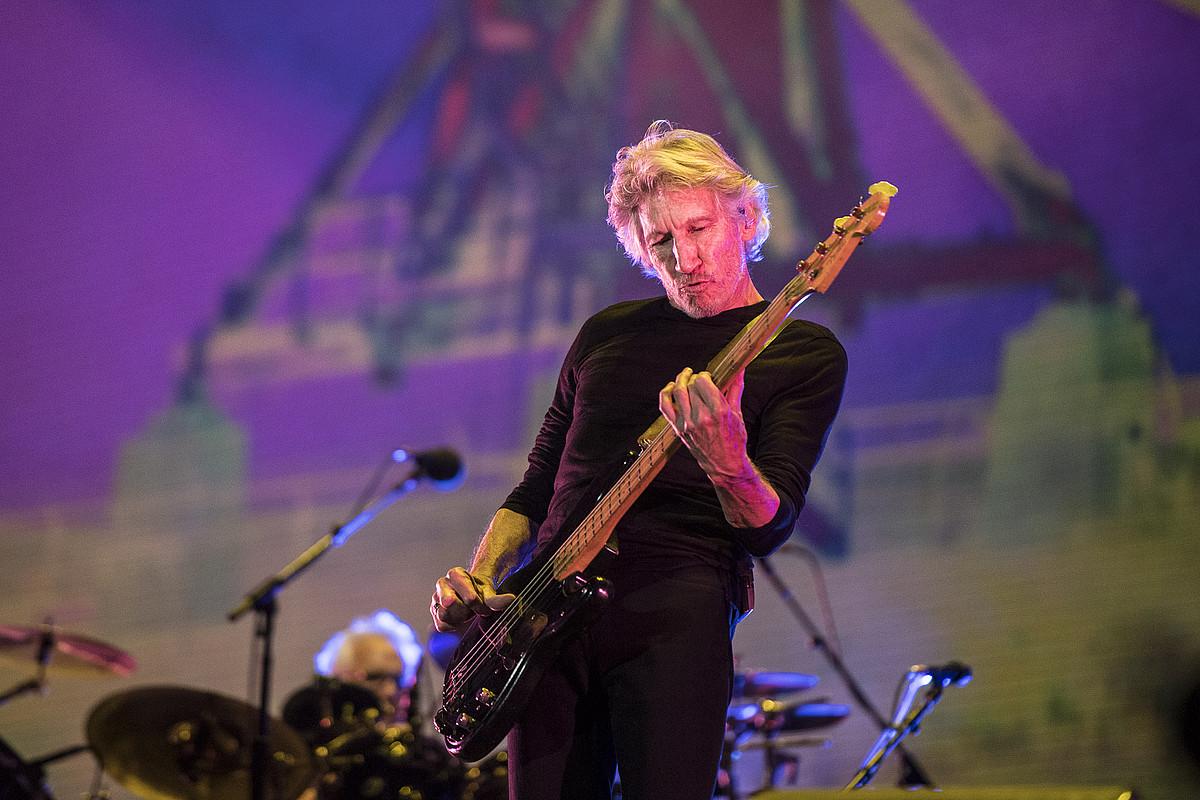 Roger Waters, iazko irailean Mexiko Hirian emandako kontzertu batean. ©CHINO LEMUS / EFE