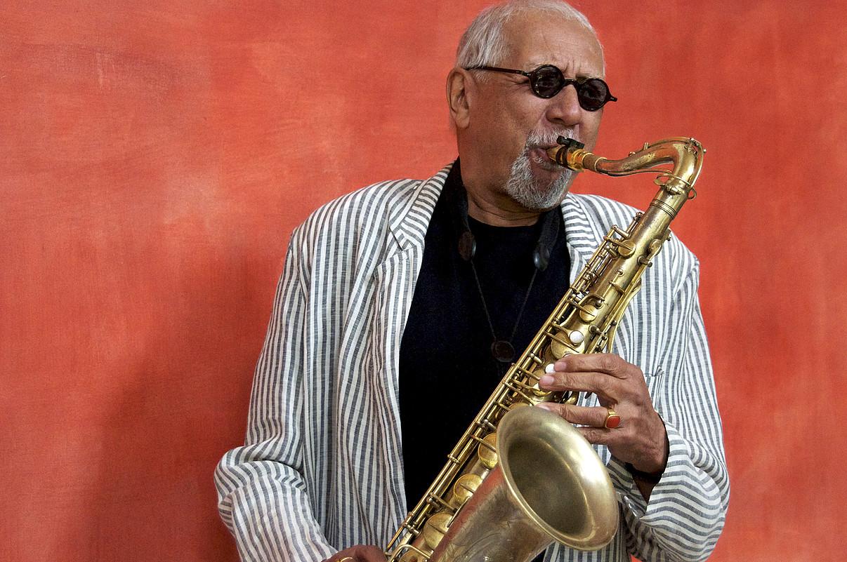 <b>Charles Lloyd. </b>Menphisko (AEB) saxo jotzaileak jasoko du jazzaldiaren saria.
