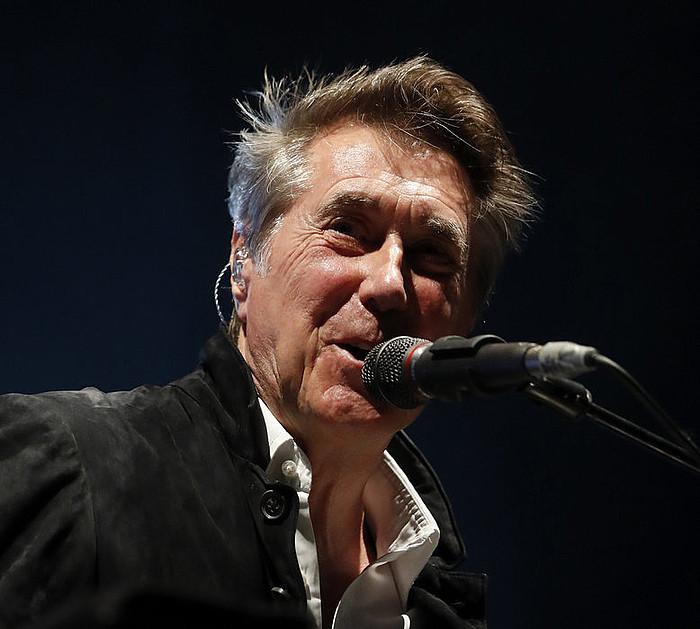 Bryan Ferry, joan den astean, Madrilen. ©JUANJO MARTIN / EFE