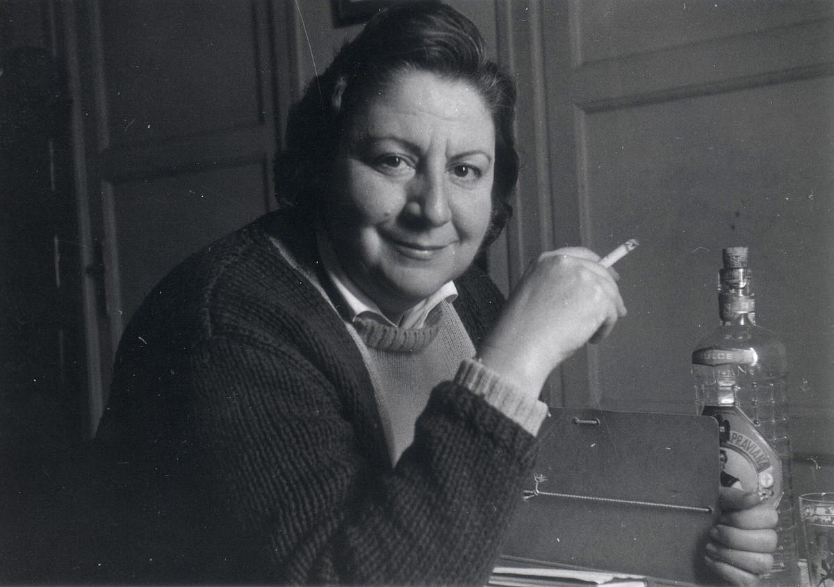 Gloria Fuertes 1970eko hamarkadan egin zen oso ezaguna, haurrentzako bere lanekin. ©EFE