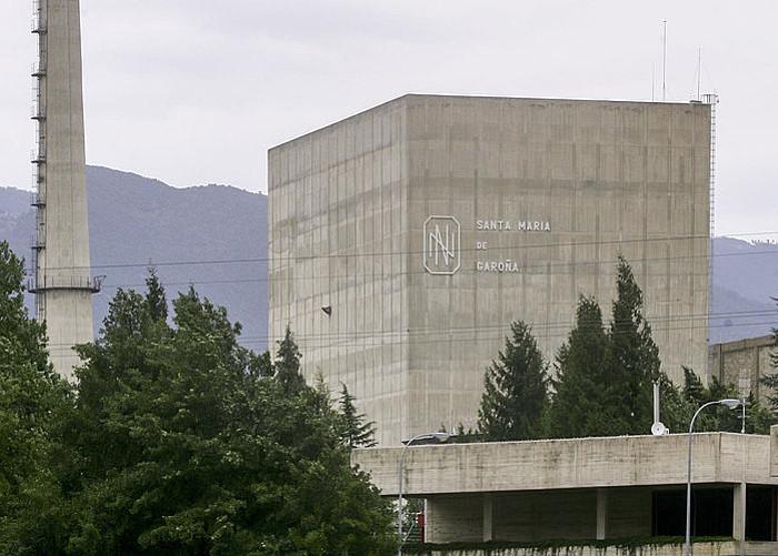 Santa Maria de Garoñako zentral nuklearraren kanpoaldea.. ©SANTI OTERO / EFE