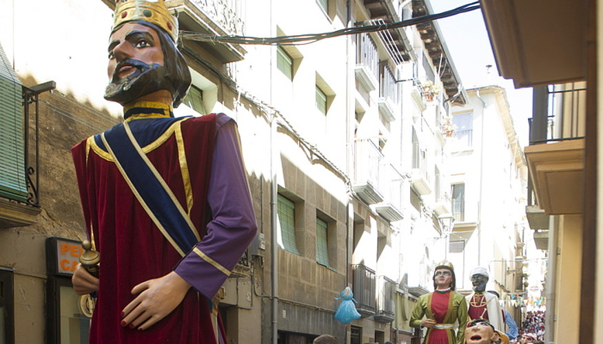 Iazko Lizarrako jaietako irudi bat. ©JAGOBA MANTEROLA / ARGAZKI PRESS