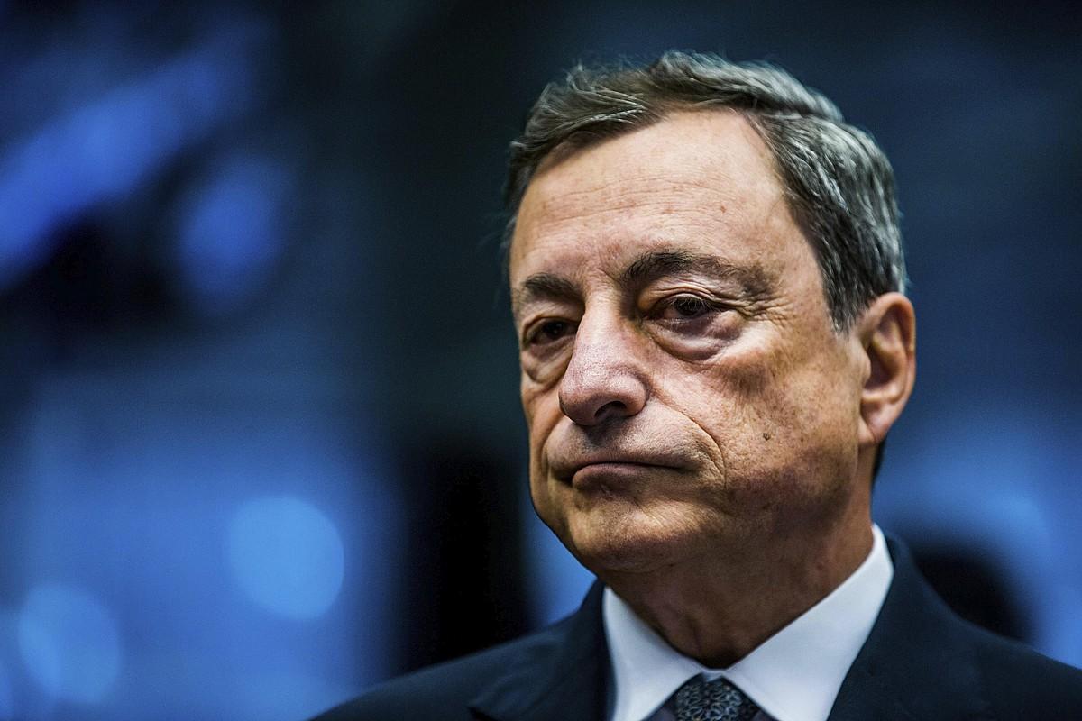 Mario Draghi, Europako Banku Zentraleko presidentea. ©STEPHANIE LECOCQ / EFE
