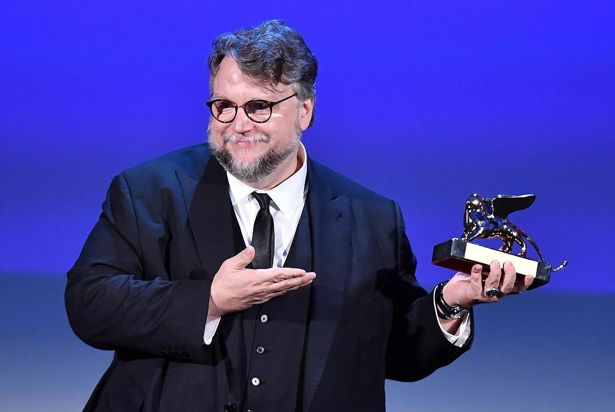 Guillermo del Torok jaso zuen zinemaldiko sari nagusia. ©ETTORE FERRARI / EFE