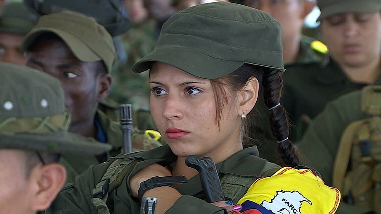 Kolonbiako gatazka aipagai duen Natalia Orozcoren <em>El silencio de los fusiles</em> filma aurkeztuko dute jaialdian. &copy;BERRIA