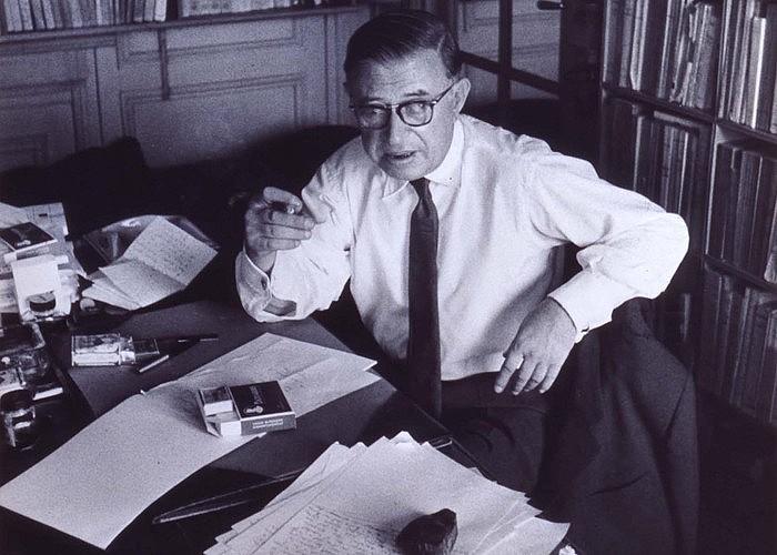 Jean-Paul Sartre filosofo eta idazlearen hainbat lan euskaratu dira. <em>Begirada</em> horien artean dago orain. &copy;JEAN MARQUIS