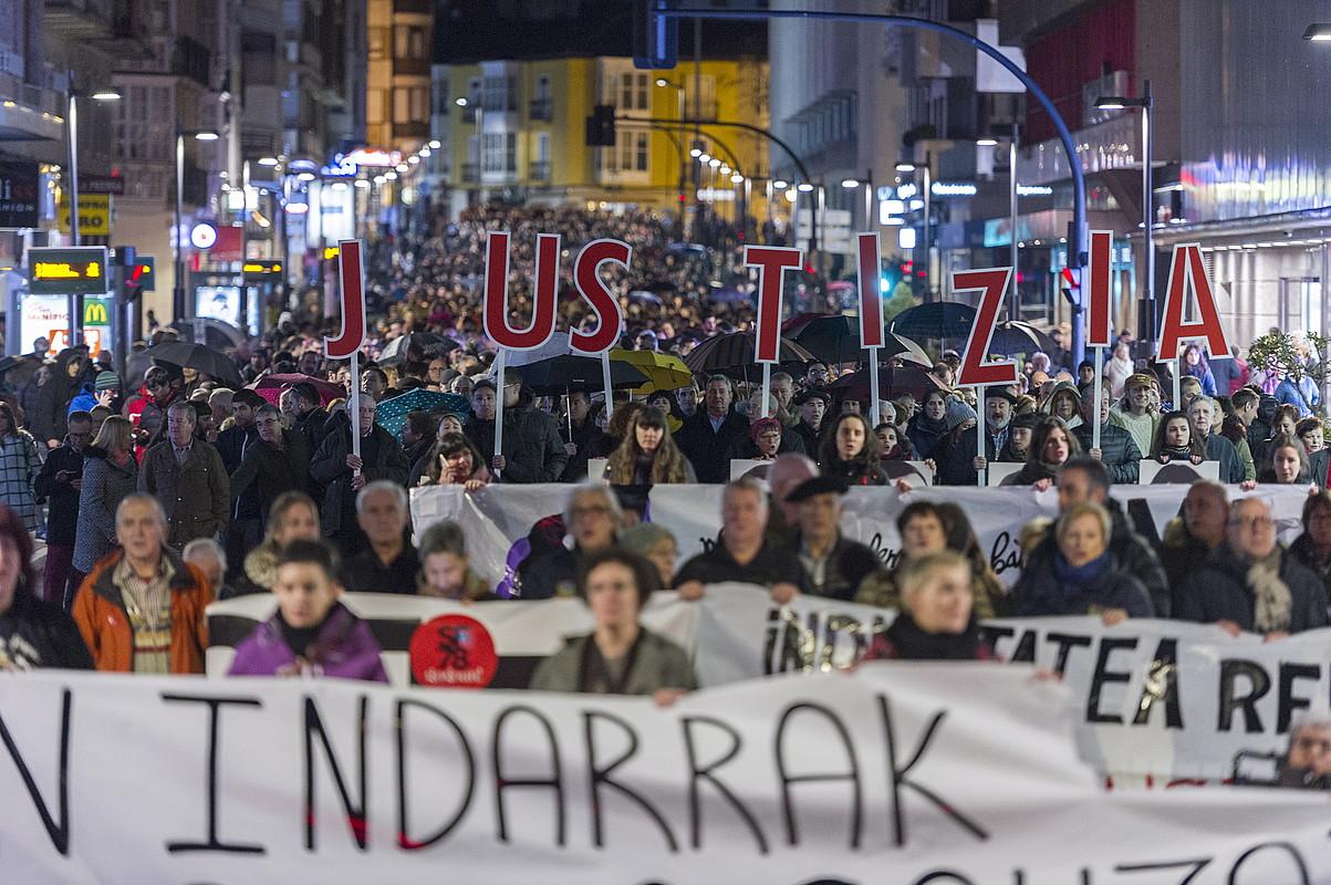 EH Bilduk Amnistia Legea aldatzea proposatuko du, auziak epaitzeko
