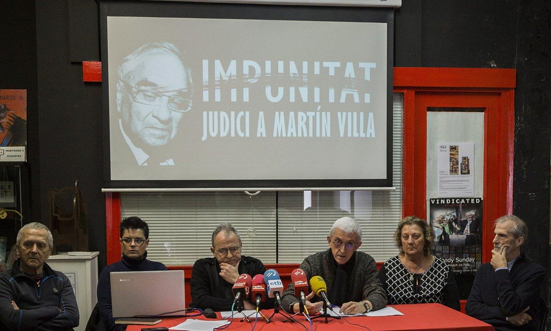 Elkarretaratzea egingo dute gaur Iruñean, Martin Villaren galdeketaren harira
