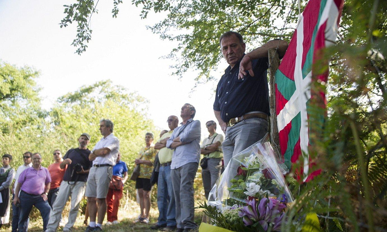 Legarreako leizea Nafarroako Memoria Historikoko eremu izendatu dute