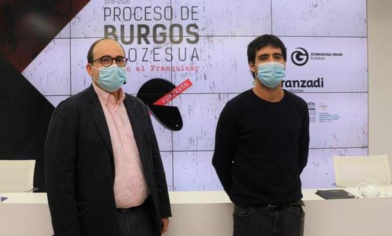 Burgosko Prozesuaren eragina aztergai dago erakusketa batean