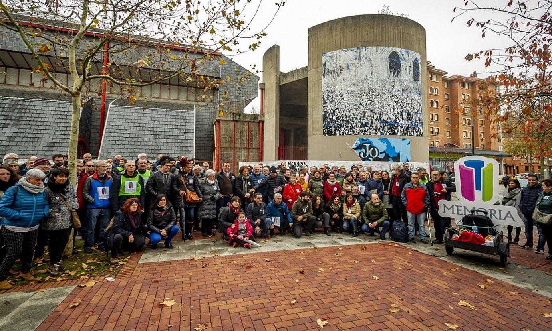Gasteizko San Frantzisko elizan jarriko dute Memoriaren Gunea
