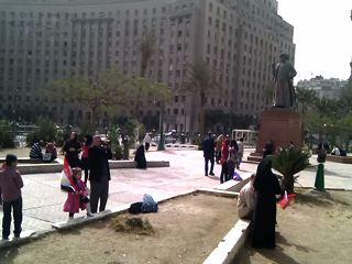 Tahir enparantza Mubarak agintetik bota ondoren
